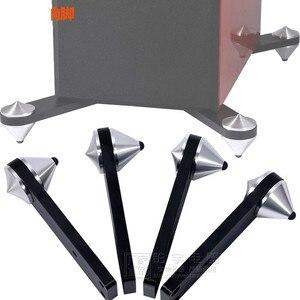 Image 5 - Ghxamp Combinato Altoparlante a Spillo Del Piede di Alluminio Ammortizzatore Della Vite Prigioniera Viaggio Anti Risonanza Audio Treppiede Chiodo di Alta End