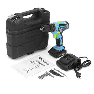Image 5 - ALLSOME Tonfon 3 In 1 12V Rechargable Electric Screwdriver Cordless lithium battery Power Dril IImpact Drill with Bits HT2336