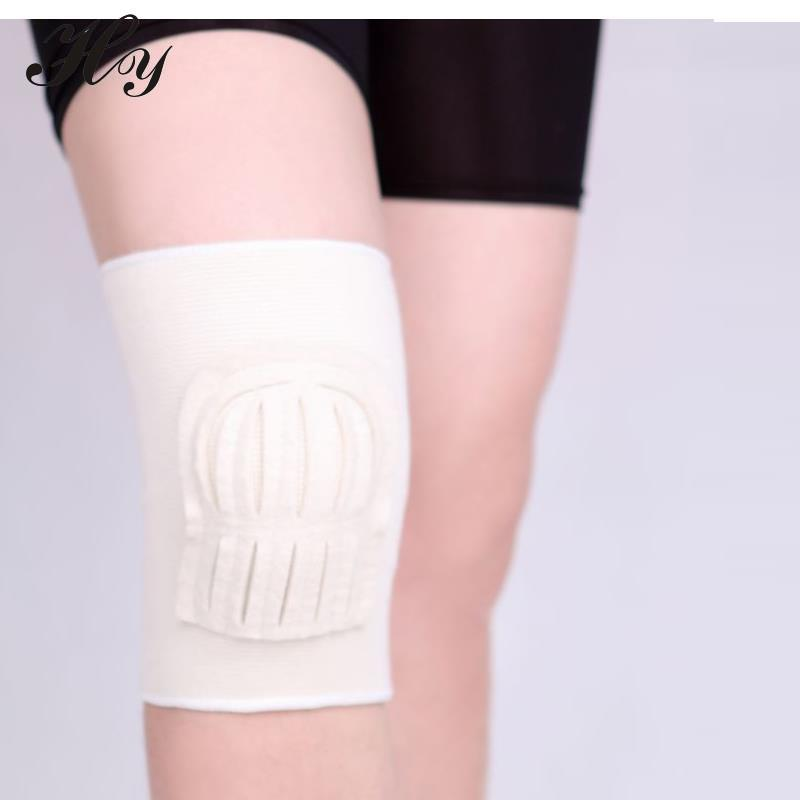 Wool Felt Kneepad Breathable Cotton Warmth Basketball Football Sports Safety Kneepad Volleyball Knee Pads Training Elastic Knee