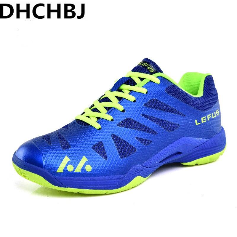 Chaussures de Badminton respirantes légères pour hommes chaussures de Sport à lacets chaussures d'entraînement athlétique pour hommes baskets de Tennis antidérapantes