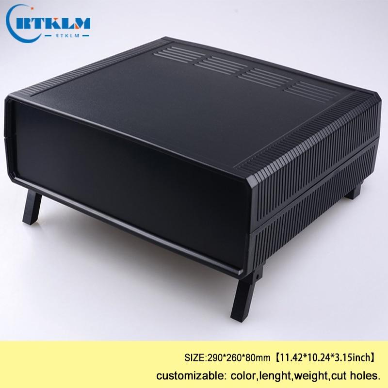 цена на Plastic box for electronic project junction box ABS custom plastic enclosure 290*260*80mm diy instrument case speakers enclosure