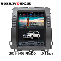 SMARTECH 10 4 Inch Vertical Huge Screen Android Car Stereo Radio Audio GPS For Toyota Prado