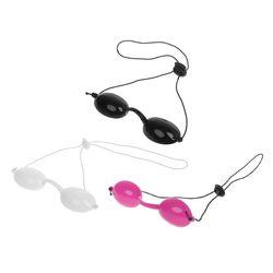 Okulary ochronne okulary ochronne miękki silikonowy Eyepatch regulowane okulary ochronne Beauty Laser IPL Eyecup