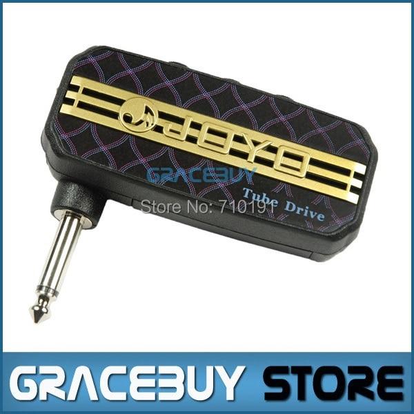 JOYO JA-03 Tube Drive Sound Mini Guitar Amp Small Pocket Power Amplifier Micro Headphone 3.5mm Input Jack