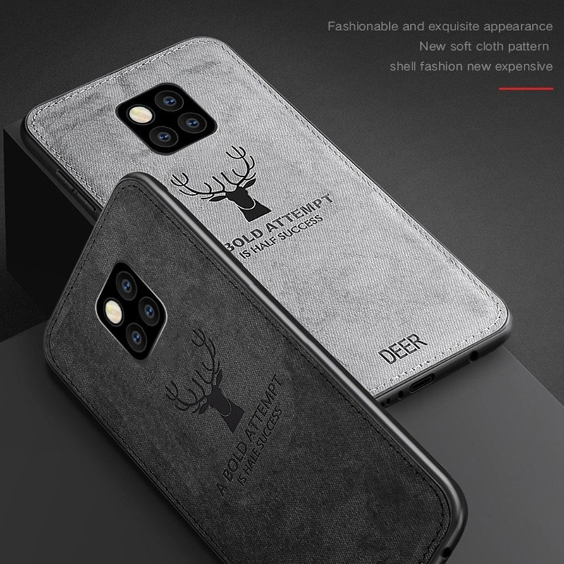 Christmas Deer Cases For Huawei Mate 20 Lite Mate20 Pro Case Silicon For Honor 8X Max 8Xmax Soft Cover Luxury Protector Shell