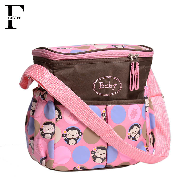 Waterproof Baby Nappy Changing Bag Small Diaper Bags Mother Maternity Organizer Storage Baby Care Bag Messenger Mommy Bags