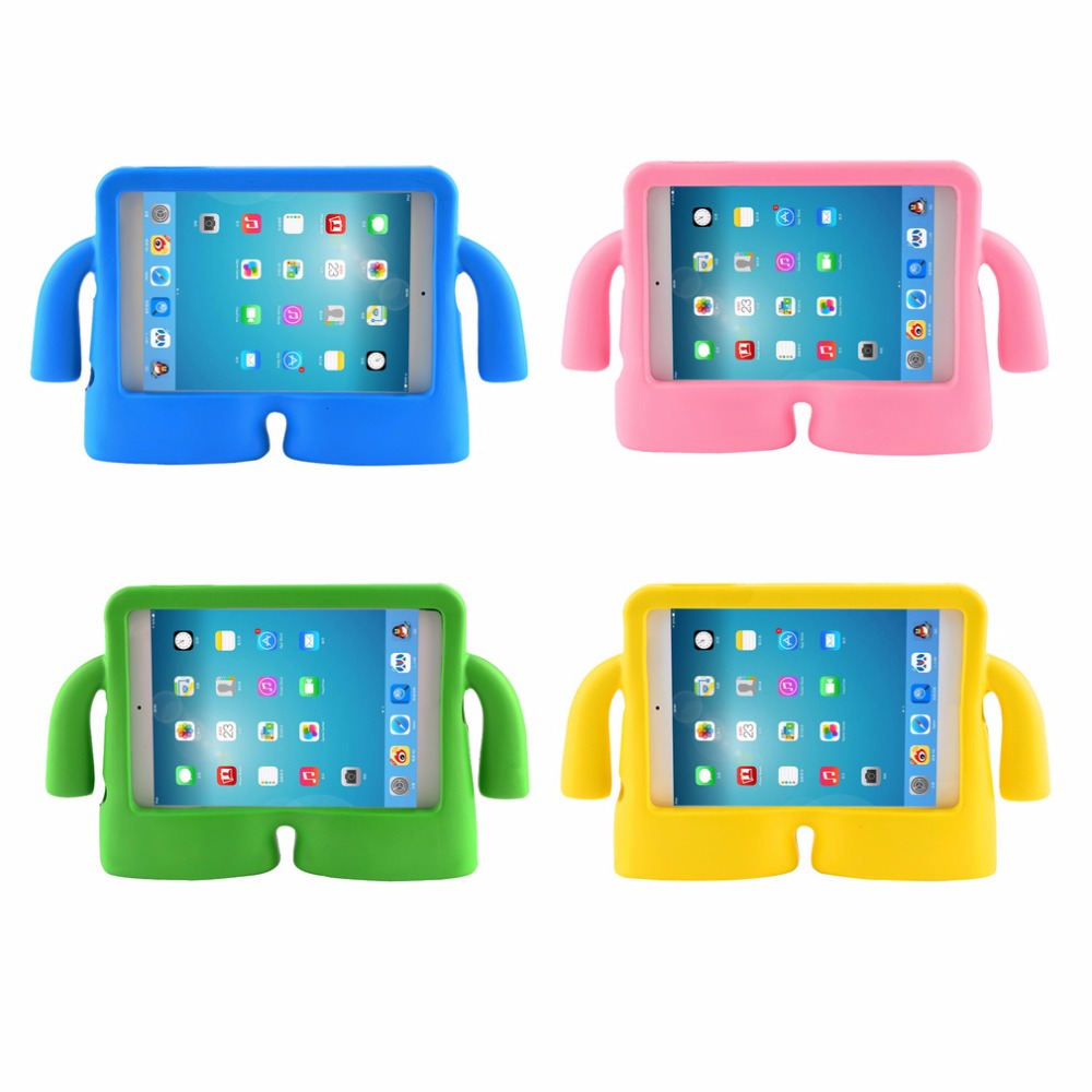 Shockproof Kids Handle EVA Foam Case Cover For Apple iPad Mini 1/2/3 Children Kids Handle Stand Protective Cover fx2n 16mr es ul page 1