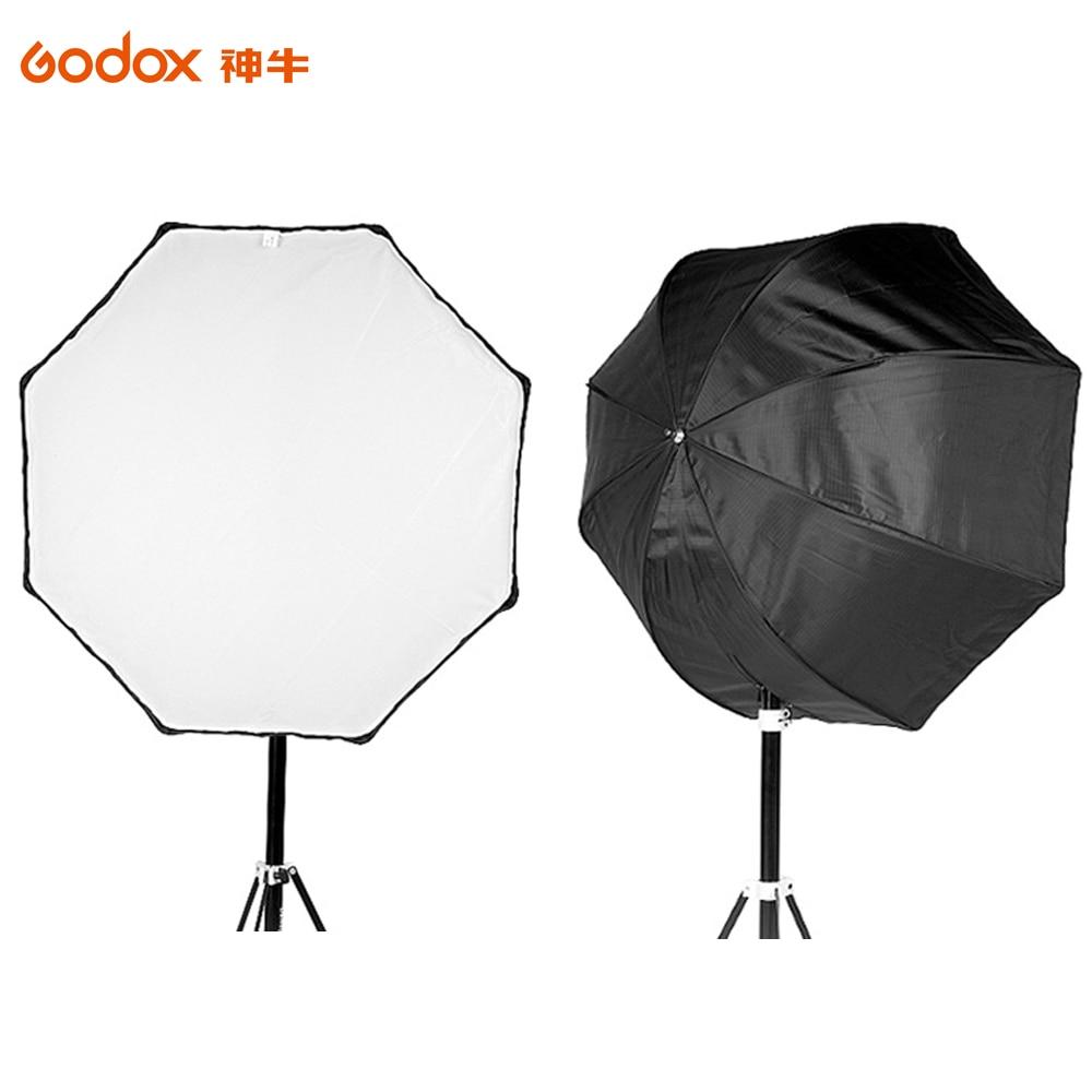 Godox 120cm / 47.2in Portable Octagon Softbox Umbrella Brolly Reflector for Speedlight Flash Light цена