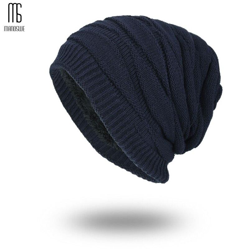 Beanies   knitted wool winter hats for men bonnet homme casual cap winter hat hats for women Super cool Skull pattern hats for men