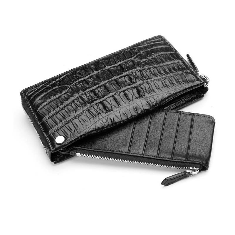 hlt men card bag crocodile skin men wallet men purse men clutch bag new 2017 fashion leisure