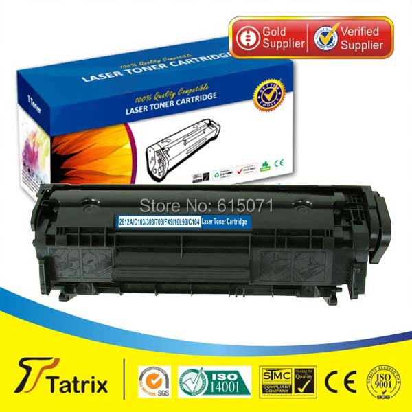 Compatible Laser Toner Cartridge Q2612A / 12A for HP LaserJet 1010/1012/1015/1018/1022/1022N/1022NW/1020/3015MFP/3020MFP/3030MFP