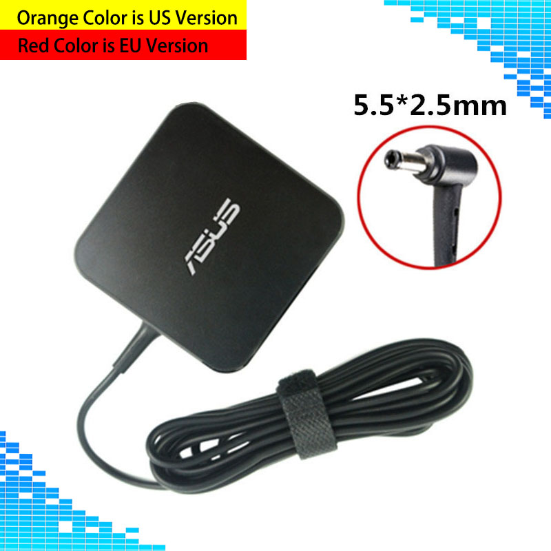 Laptop Adapter 19V 3.42A 65W 5.5*2.5mm ADP-65DW A / ADP-65AW A AC Power Charger For X550C A450C Y481C Notebook