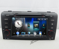 Car GPS radio navigation DVD for Mazda3 2004 2009 with Bluetooth, Ipod, USB and GPS radio map