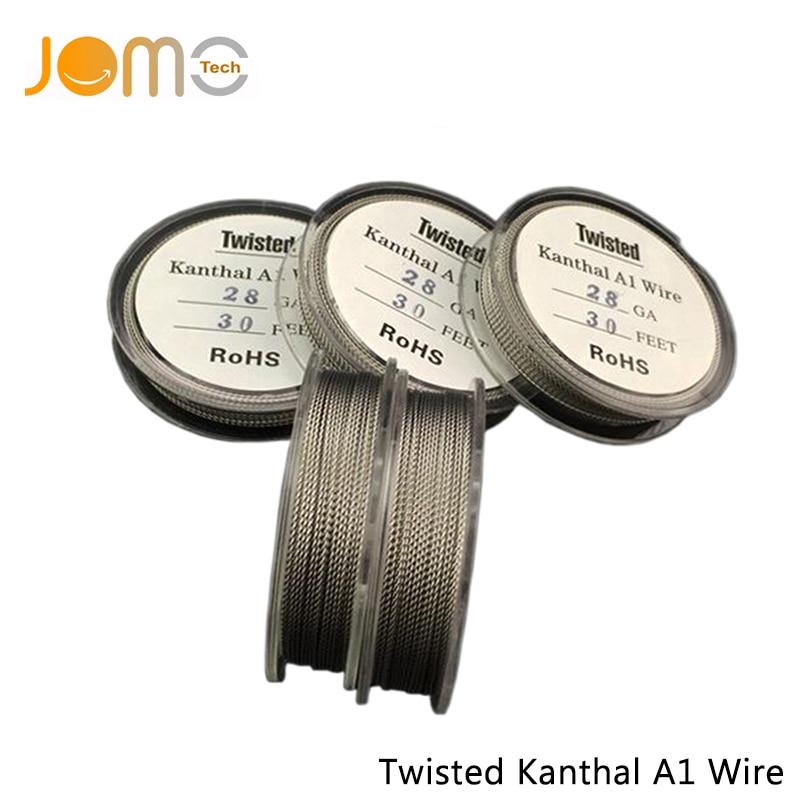 Jomo Tank RTA Evaporater Wire Electronic Cigarette RBA Atomizer Metal Wire RDA Atomizer Coil Twisted Kanthal