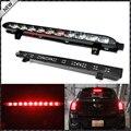 Black Chrome Lens Red 10-LED High Mount Third 3rd Brake Light, OEM Fit For 2007-2014 MINI Cooper R56 R57 R58 R60
