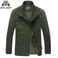 The New AFS Jeep Long Section Of Fertilizer To Increase The Jacket Genuine Spring And Autumn
