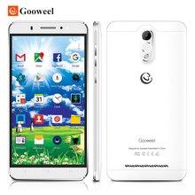 Bezpłatne przypadku mtk6580 gooweel m3 smartphone 6.0 cal ips ekran quad core Mobile phone 8MP + 5MP GPS 1 GB RAM 8 GB ROM 3G Komórki telefon