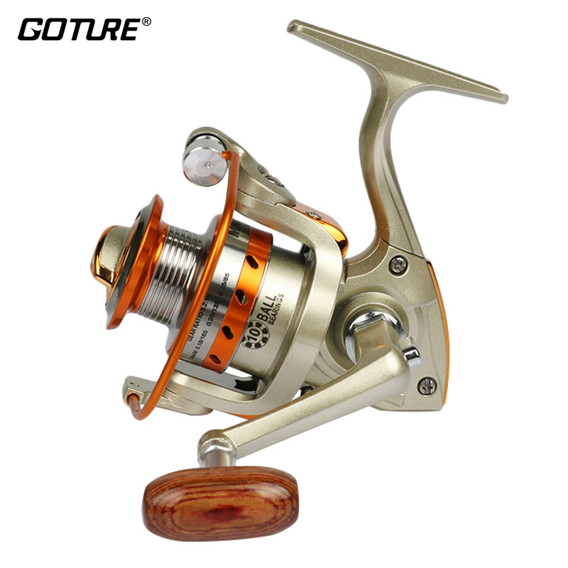 Goture metal spool mini fishing reel 5 5 1 fishing cheap for Discount fishing reels