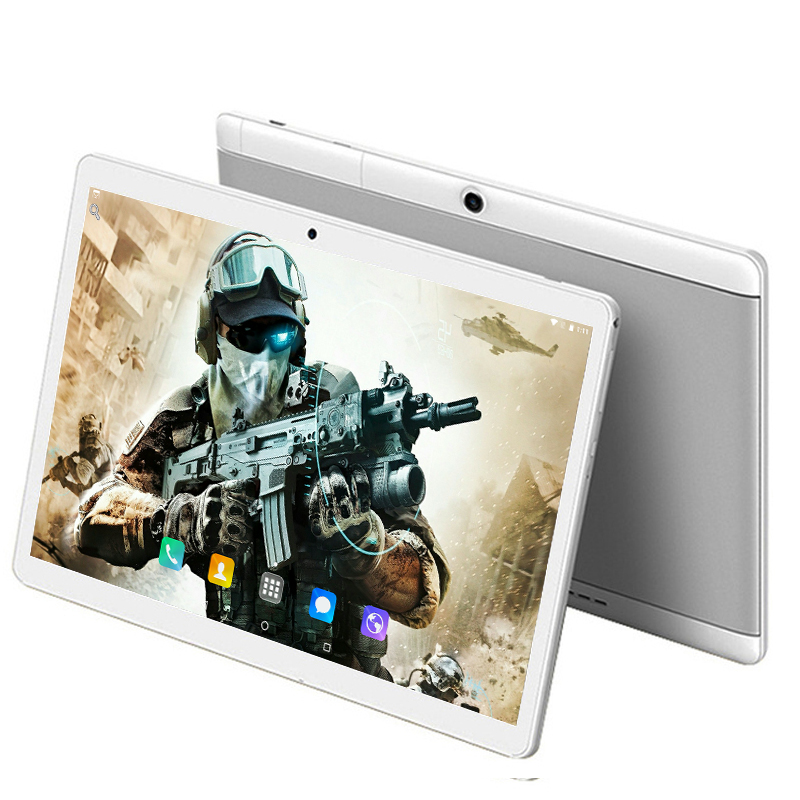 6+64GB 10.1 Inch Tablet PC 3G/4G LTE Phone Call Dual SIM Card Android 8.0 Octa Core 1280*800 IPS WiFi Bluetooth Tablets 10 10.1