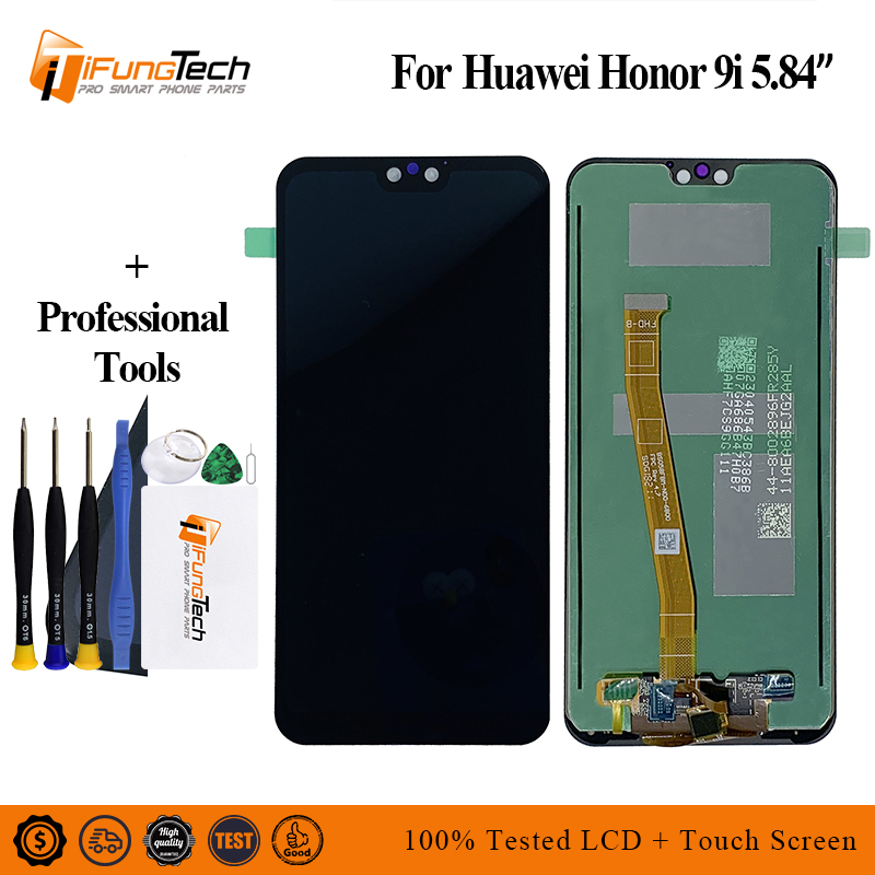 5.84 New For Huawei Honor 9i 2018 / Honor 9N LLD-AL30 LLD-AL20 Full LCD DIsplay + Touch Screen Digitizer Assembly 100% Tested5.84 New For Huawei Honor 9i 2018 / Honor 9N LLD-AL30 LLD-AL20 Full LCD DIsplay + Touch Screen Digitizer Assembly 100% Tested