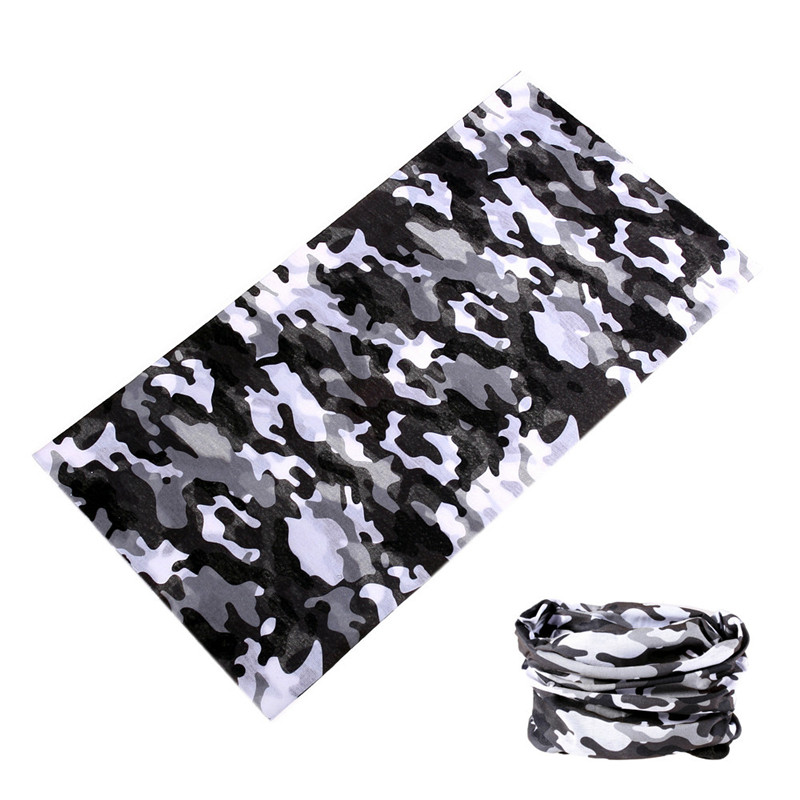 buffe Camo Tactical Mask Multifunctional Camouflage Scarf Outdoor Sport Half Face Shield Neck Balaclava Bicycle Moto Headband