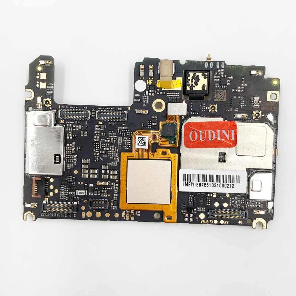 Oudini desbloqueado placa-mãe original para xiaomi a1 placa-mãe dupla simcard 4g ram 64 gb rom para xiaomi 5x placa-mãe
