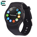 MTK2502C Bluetooth Смарт наручные Часы IP65 Водонепроницаемый поддержка SIM сердце rate monitor Для Android IOS телефон PK DM09 KW18 G4 U8