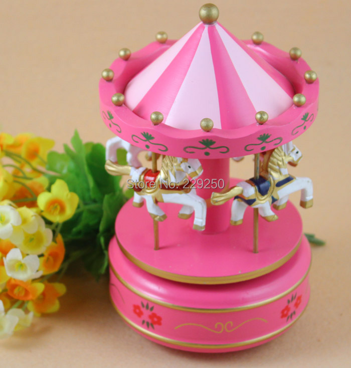 Special Wooden Carousel Music Box Creative Friends Children Birthday Gift Valentines Day In Boxes From Home Garden On Aliexpress