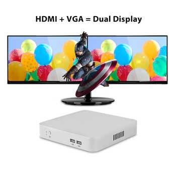 Mini PC Intel Core i5 4200U i3 4010U i7 4500U Windows 10 Mini Computer NUC Nettop Desktop minipc WIFI HDMI HD Graphics 4200
