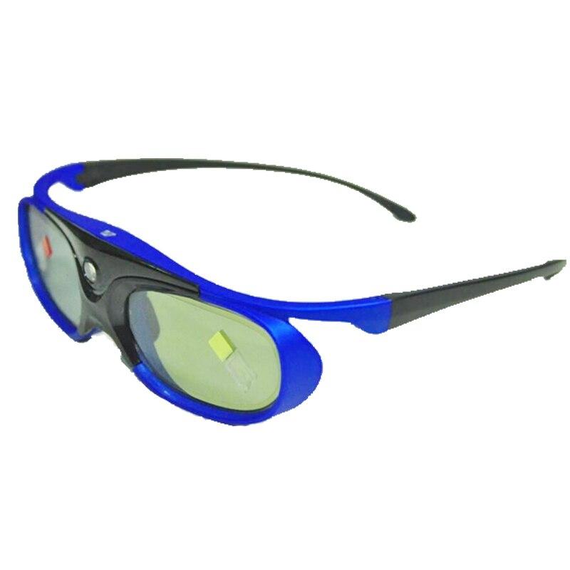 Obturador activo 96 144Hz gafas 3D recargables para Benq Acer X118H P1502 X1123H H6517Abd H6510Bd proyector Optoma Jmgo V8 Xgimi - 4