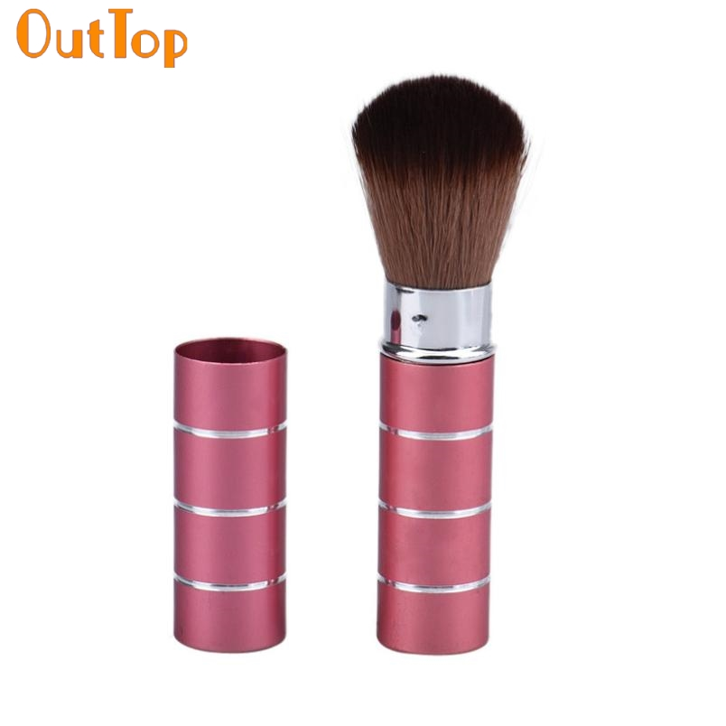 Makeup Brushes OutTop ColorWomen Hot fashion design 1pc Cosmetic Makeup Brush metal + Nylon Hair Drop Shipping je13