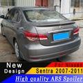 Для Nissan Sentra 2007 до 2011 спойлер высокого качества ABS спойлер праймер или любой цвет задний спойлер для Nissan Sentra