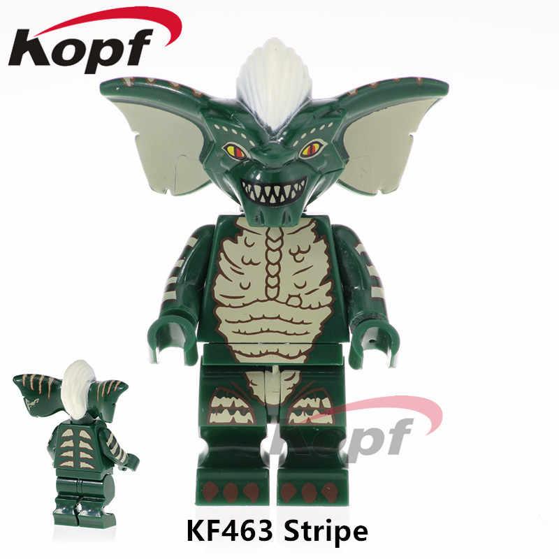 واحد بيع سوبر أبطال شريط Gremlins الفيلم الأبعاد أرقام 71256 الأداة الطوب اللبنات الأطفال دمى هدايا KF463