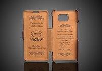 Новый 100% натуральная кожа флип чехол для samsung Galaxy Note 5 Марка Оригинальный тиснение модные Note5 Fundas компактный