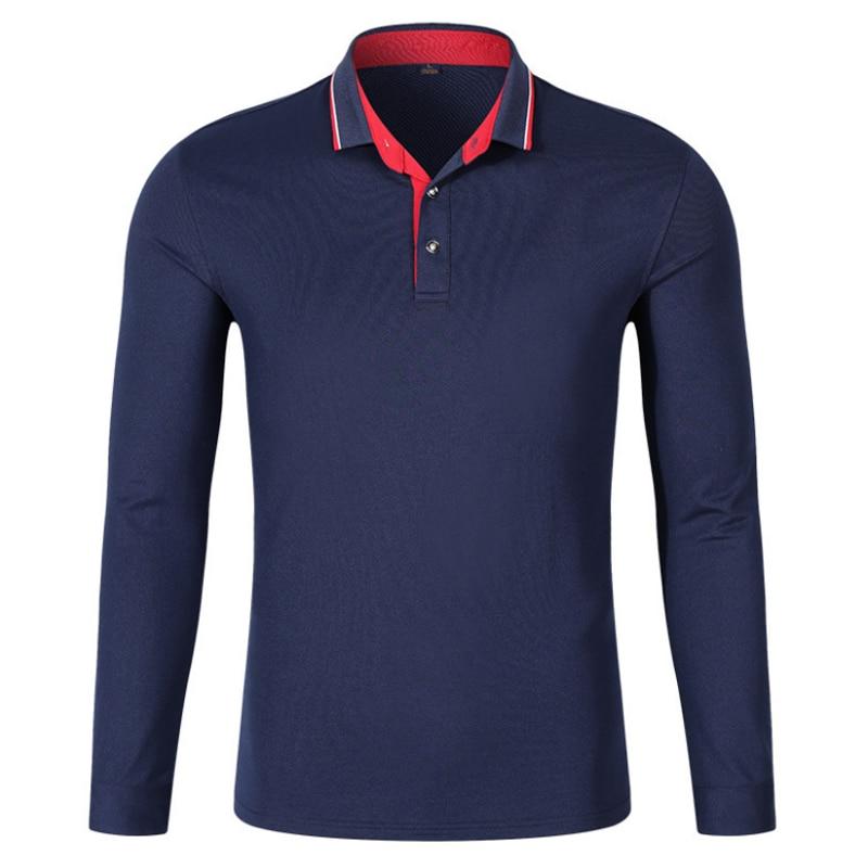 2018 new polo shirt men long sleeve camisa polo men fashion cotton polo shirt male casual shirt. Black Bedroom Furniture Sets. Home Design Ideas