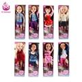 "NOVO 8 Modelos Diferentes 18 ""45 cm princesa menina boneca corpo joint realistas toys presente de aniversário para as meninas como american girl bonecas diy"