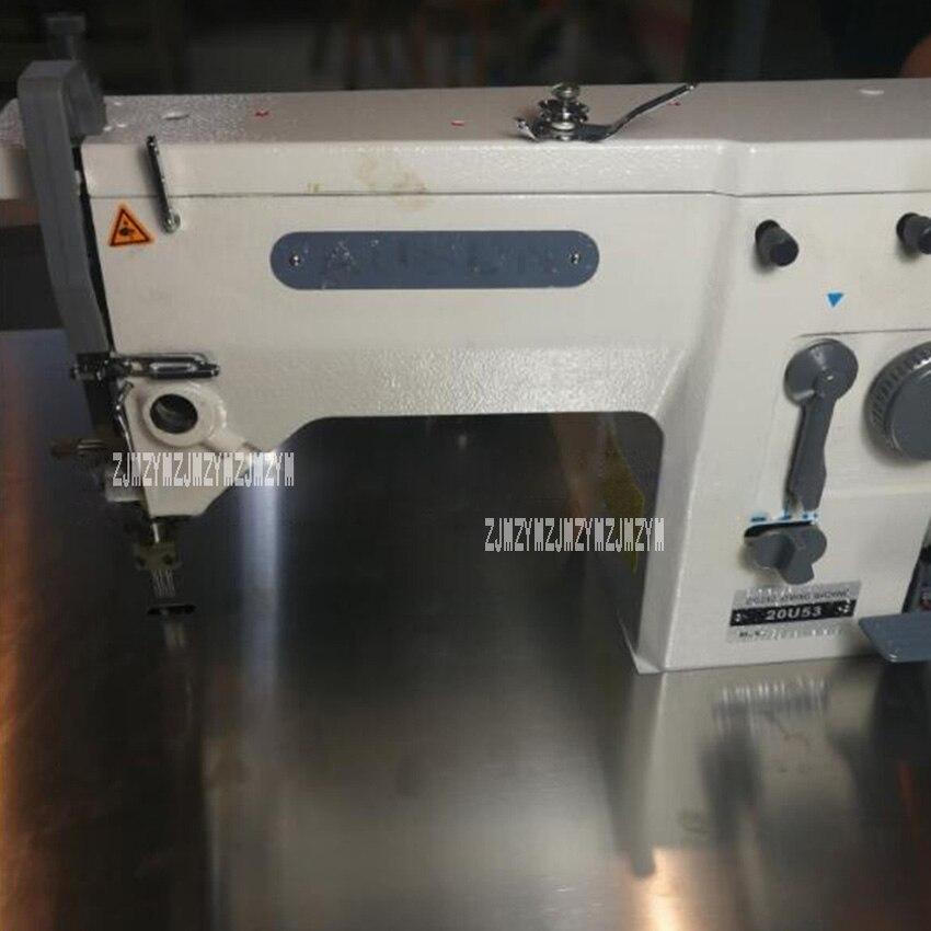 Nouveauté 20U perruque Machine à coudre industrielle Machine à coudre équipement de couture perruque cuir chevelu Machine 220 v/380 v 250 W/370 W 2000 RPM