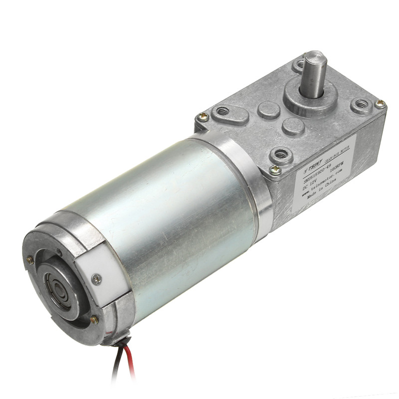 DC Worm Reducer Gear 12V 160rpm High Torque Motor Electric Motor With Reduction  цены