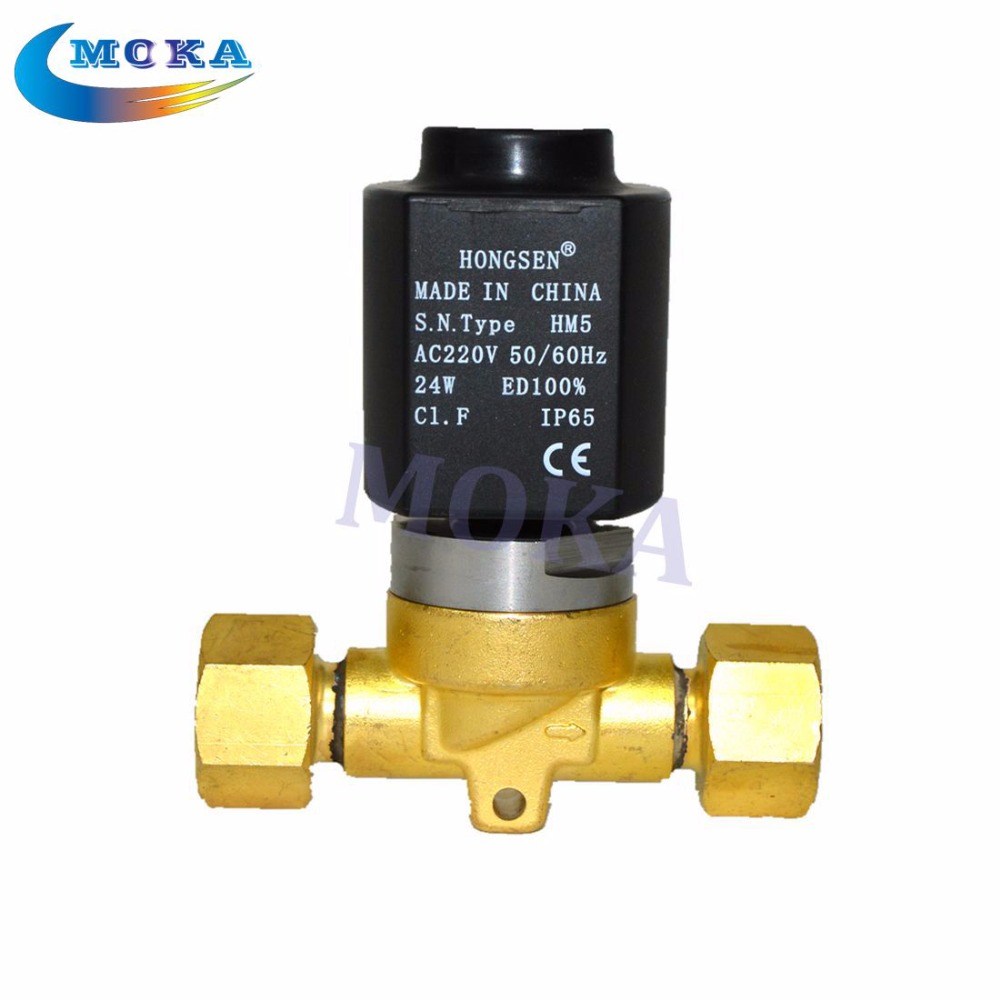 Co2 Jet Machine Electrical Valve with Aluminum 220v /110v repair For CO2 Cannon Machine tiptop stage light co2 jet machine solenoid valve with brass fitting suit for co2 club cannon 100v 240v carbon dioxide generator