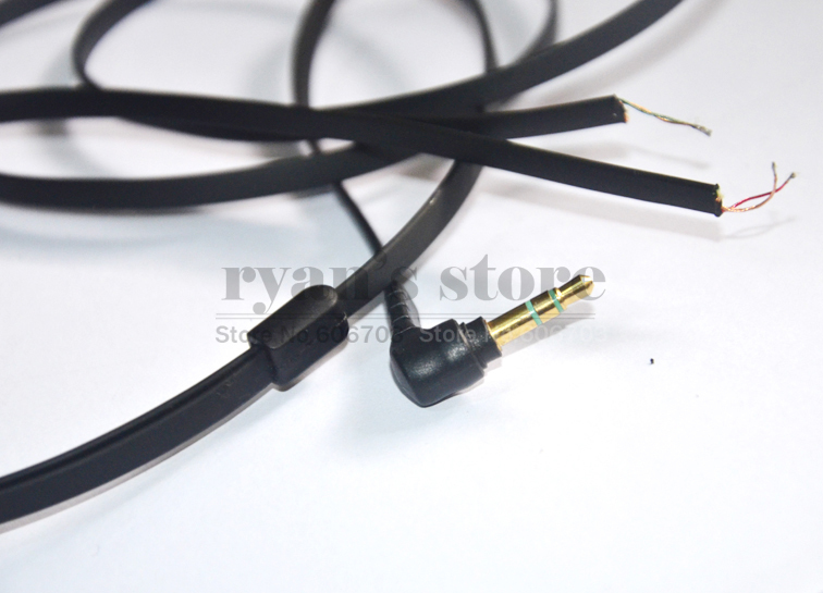 Flat Replacement audio Cable cord for Sony MDR XB500 XB700 Headphones flat replacement audio cable cord for sony mdr xb500 xb700  at bakdesigns.co