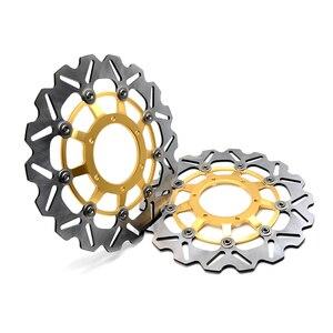 Image 4 - CNC мотоцикл передний ротор плавающего тормозного диска и задний тормозной диск ротора для Honda CBR600 cbr 600 2007 2013 CBR600RR 2003 2014