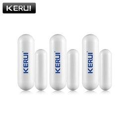 1/3/6/8 teile/lose Neue KERUI öffnen erinnerung Sensor 433mhz Während Wireless Home Alarm Fenster tür Sensor zu Erkennen Offene Tür