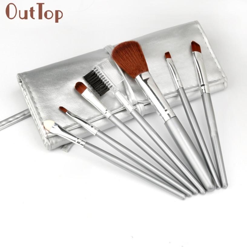 Best Deal New Professional Makeup Brushes Set New 7PCS Synthetic Make Up brushes High Quality Makeup Tools клей активатор для ремонта шин done deal dd 0365
