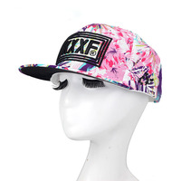 10pcs wholesale Men Women Snapback Cap Flower Print flat brim baseball cap youth hip hop cap and hat for boys and girls ZZ4061