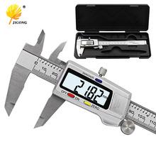 Measuring Tool Stainless Steel Digital Caliper 6 #8220 150mm Messschieber paquimetro measuring instrument Vernier Calipers cheap JIGONG Metalworking 0-150mm 0 01mm Digital Calipers JIGO-150
