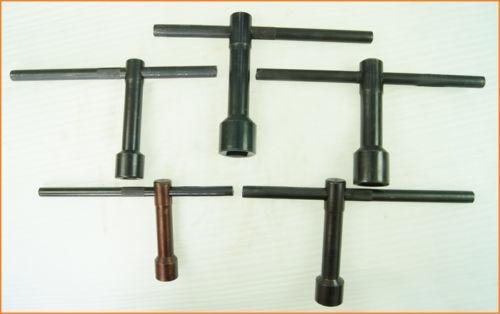 10 čtvercových klíčů koupit - Milling Lathe Post Square Key Wrench Spanner 8 10 12 14 17 19MM