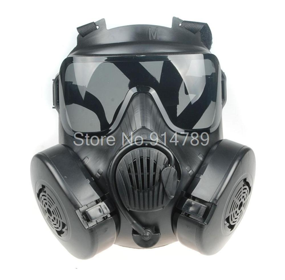 Kids Costumes & Accessories Responsible Tactical Airsoft Paintball Full Face Skull Gas Mask M50 Black-34154 To Produce An Effect Toward Clear Vision Costumes & Accessories