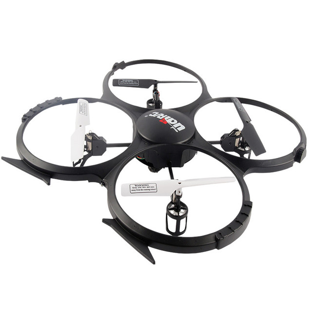 UDI U818A 4 CANALES 6 Axis Gyro RC Quadcopter con 30 W Cámara 2 de la batería, 1TF 2 GB