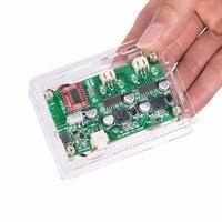 Portable Mini Bluetooth 4.0 Audio Power Amplifier Stereo Amp Board +Case 6W*2 5V