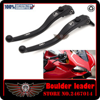 Black Motorbike Motorcycle Left Right Brake Clutch Levers For DUCATI 1098 1198 1199 899